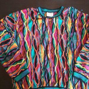 Coogi Australia sweater. M. 90s Biggie Will Smith